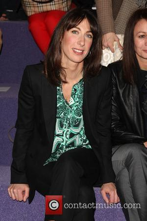 Samantha Cameron London Fashion Week - Autumn/Winter 2012 - Christopher Kane - Front Row London, England - 20.02.12