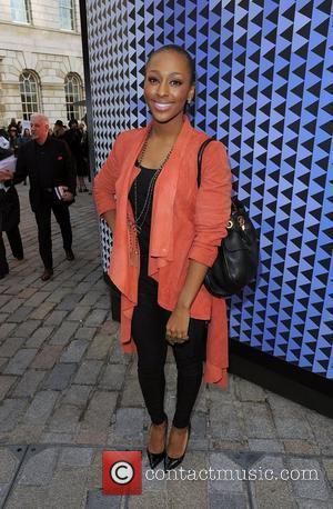 Alexandra Burke London Fashion Week Autumn/Winter 2012 - Felder Felder - Outside Arrivals London, England - 17.02.12