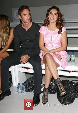 Kelly Brook and Thom Evans London Fashion Week Spring/Summer 2013 - Issa - Front Row London, England - 15.09.12