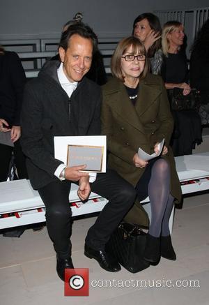 Richard E. Grant with his wife Joan Washington London Fashion Week Autumn/Winter 2012 - Jasper Conran - Front Row London,...