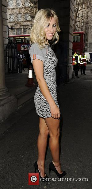 Mollie King from girl group The Saturdays Mark Fast Autumn/Winter London Fashion Show. London, England - 20.02.12