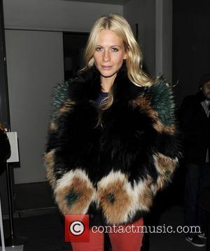 Poppy Delevigne London Fashion Week 2012 Matthew Williamson show departures. London, England - 19.02.12