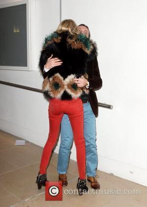 Poppy Delevigne and Matthew Williamson London Fashion Week - Autumn/Winter 2012 - Matthew Williamson - Front Row London, England -...