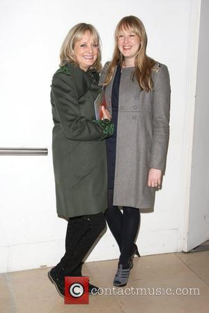 Twiggy with her daughter Carly Lawson London Fashion Week - Autumn/Winter 2012 - Matthew Williamson - Front Row London, England...