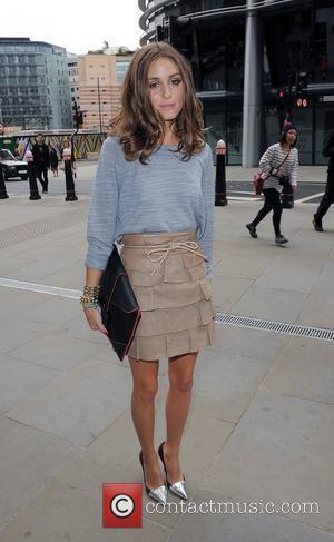 Olivia Palermo London Fashion Week Spring/Summer 2013 - Matthew Williamson - Outside Arrivals. London, England - 16.09.12