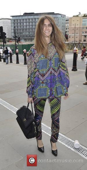 Sunday Girl Jade Williams London Fashion Week Spring/Summer 2013 - Matthew Williamson - Outside Arrivals London, England, 16.09.12