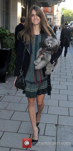 Sunday Girl aka Jade Williams London Fashion Week Spring/Summer 2013 - Mulberry - Outside Arrivals London, England - 18.09.12