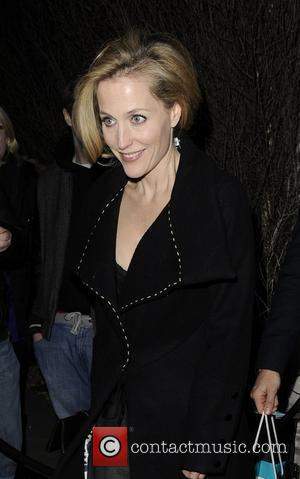Gillian Anderson and London Fashion Week