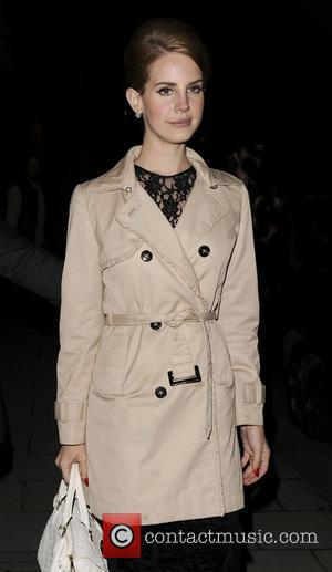 Lana Del Ray London Fashion Week 2012 Mulberry aftershow dinner. London, England - 19.02.12