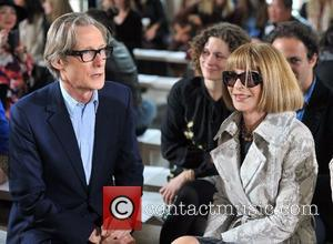 Bill Nighy and Anna Wintour