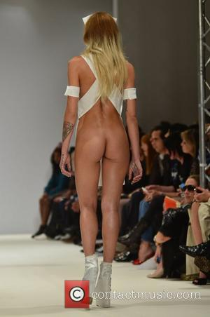 Alice Dellal London Fashion Week Spring/Summer 2013 - Pam Hogg - Catwalk London, England - 17.09.12