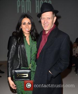 Serena Rees and Paul Simonon London Fashion Week - Autumn/Winter 2012 - Pam Hogg - Front Row London, England -...