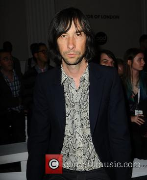 Bobby Gillespie London Fashion Week Spring/Summer 2013 - Pam Hogg - Front Row London, England - 17.09.12