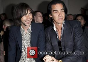 Bobby Gillespie and Nick Cave