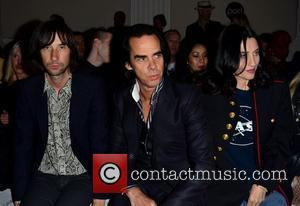 Bobby Gillespie, Nick Cave and Susie Bick