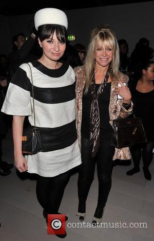 Gizzi Erskine, Jo Wood and London Fashion Week
