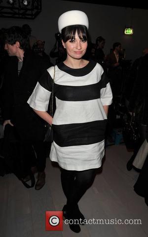 Gizzi Erskine and London Fashion Week
