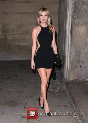 Kate Moss and London Fashion Week