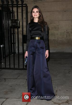 Anouck Lepere Stella McCartney Winter 2012 London Eveningwear Presentation and Dinner London, England - 18.02.12