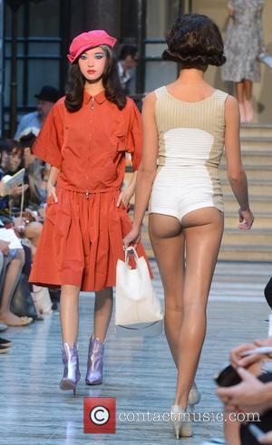 Model, Vivienne Westwood and London Fashion Week