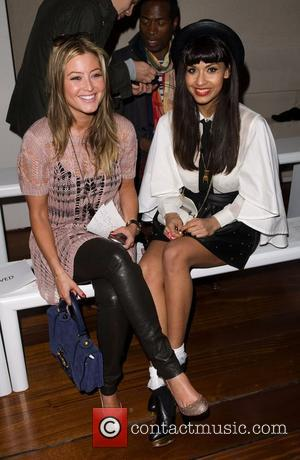 Holly Valance, Jameela Jamil and London Fashion Week