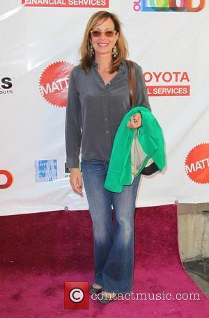 Allison Janney L.A. Gay & Lesbian Center's LifeWorks Program Block Party of the Summer 'Life Out Loud' Held at The...
