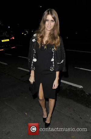 Jade Williams aka Sunday Girl Arriving at Lingerie London held at Old Billingsgate. London, England - 24.10.12