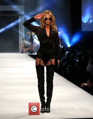 Peaches Geldof And Sarah Harding Hit The Runway For Lingerie Show