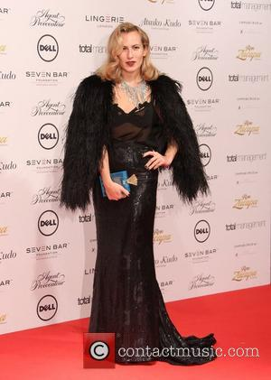 Alice Dellal Lingerie London, Agent Provocateur and Atsuko Kudo fashion show gala held at Old Billingsgate - arrivals London, England...