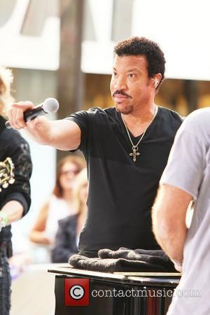 Lionel Richie and Rockefeller Plaza