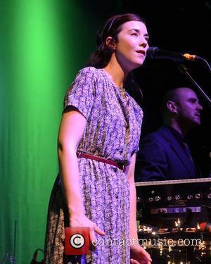 Lisa Hannigan  performing live at Vicar Street  Dublin, Ireland - 22.12.11