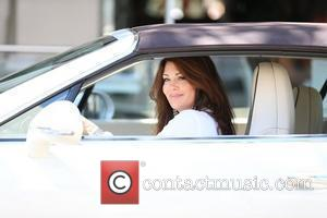 'The Real Housewives of Beverly Hills' star Lisa Vanderpump exits Villa Blanca in Beverly Hills.  Los Angeles, California -...