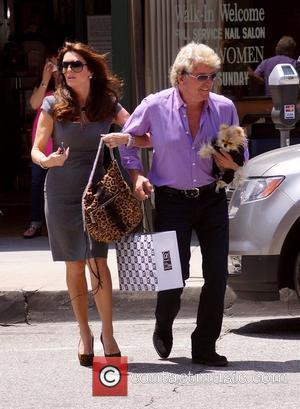 'Real Housewives of Beverly Hills' star Lisa Vanderpump  seen out and about with husband Kenneth Todd Los Angeles, California...