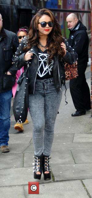 Jesy Nelson Little Mix arrive at Blackpool Winter Gardens ahead of their concert at the venue  Featuring: Jesy Nelson...