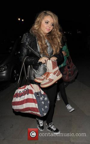 Jesy Nelson from girl group Little Mix, arriving back at her hotel just before 1.30am, having performed at a private...