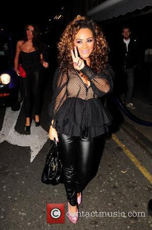 Chelsee Healey leaving her Liverpool hotel in good spirits to go out with a friend Liverpool, England - 15.09.12