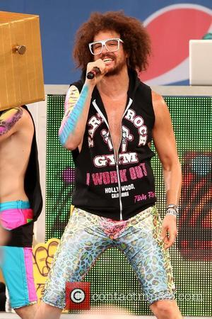 Redfoo LMFAO performs live in Central Park as part of Good Morning America's Summer Concert Series New York City, USA...