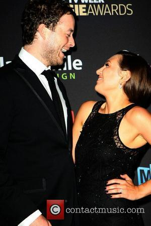 Hamish Blake and Zoe Foster The 2012 Logie Awards held at the Crown Palladium - Arrivals  Melbourne, Australia -...