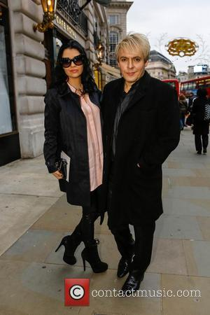 Nick Rhodes London Collections: Men - Oliver Spencer - Outside Arrivals  Featuring: Nick Rhodes Where: London, United Kingdom When:...