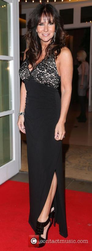Linda Lusardi,  at the Hot Diamonds London Lifestyle Awards held at The Hurlingham Club. London, England - 17.10.12