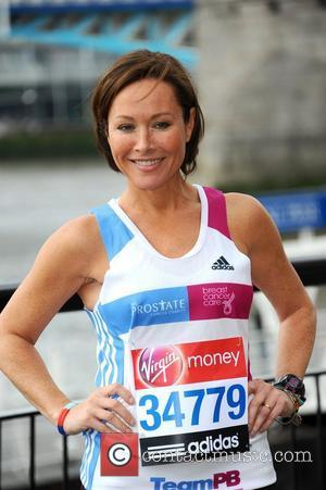 Amanda Mealing  Virgin London Marathon 2012 - Photocall at The Tower Hotel London, England - 20.04.12