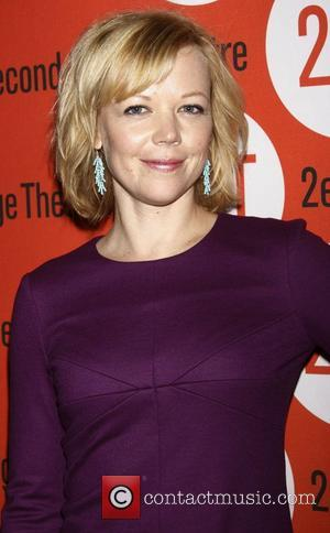 Emily Bergl Opening night after party of the Off-Broadway play 'Lonely, I'm Not' at the Second Stage Theatre  New...