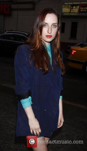 Zoe Lister-Jones  Opening night of the Off-Broadway play 'Lonely, I'm Not' at the Second Stage Theatre - Arrivals New...