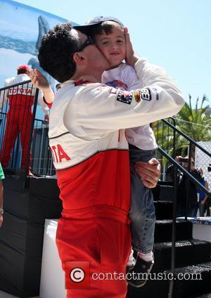 Adam Carolla and his son The 36th Annual Toyota Pro/Celebrity Race held at Long Beach Long Beach, California - 14.04.12