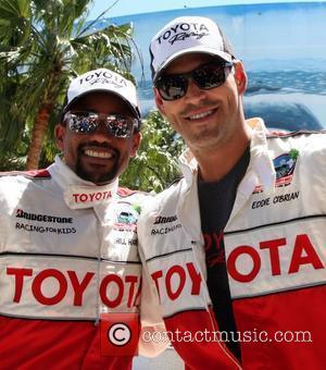 Hill Harper and Eddie Cibrian The 36th Annual Toyota Pro/Celebrity Race held at Long Beach Long Beach, California - 14.04.12