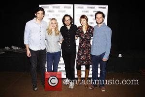 Adam Driver, Charlotte Parry, Sam Gold, Sarah Goldberg and Matthew Rhys Photocall for the Roundabout Theatre Company's 'Look Back in...