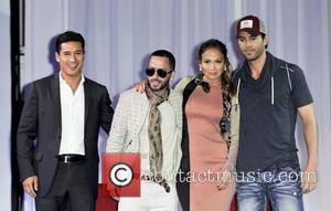Mario Lopez, Enrique Iglesias and Jennifer Lopez