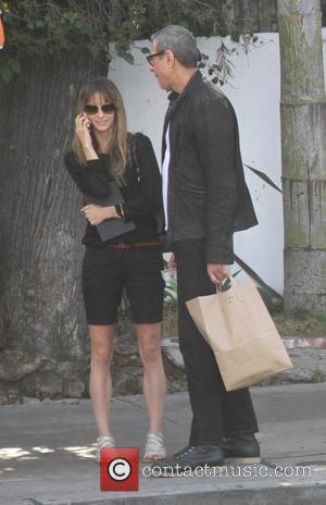 Jeff Goldblum leaves Little Door in Hollywood with a friend Los Angeles, California - 18.02.12