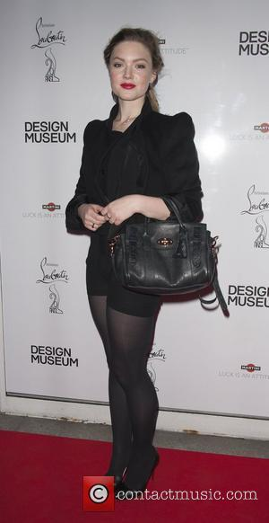 Holliday Grainger Private reception to celebrate the opening of Christian Louboutin's UK retrospective at the Design Museum London, England -...