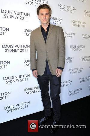 Xavier Samuel arrives at the instore cocktail party celebrating the opening of the Louis Vuitton Australian flagship 'Maison' store. The...